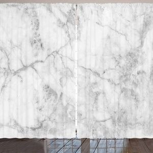 """Curtains 108""""W x 84""""L Cloudy Marble Print Backdrop"""